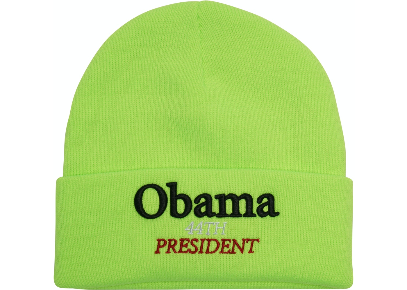 23ec65a613 Sell. or Ask. View All Bids. Supreme Obama Beanie Fluorescent Green