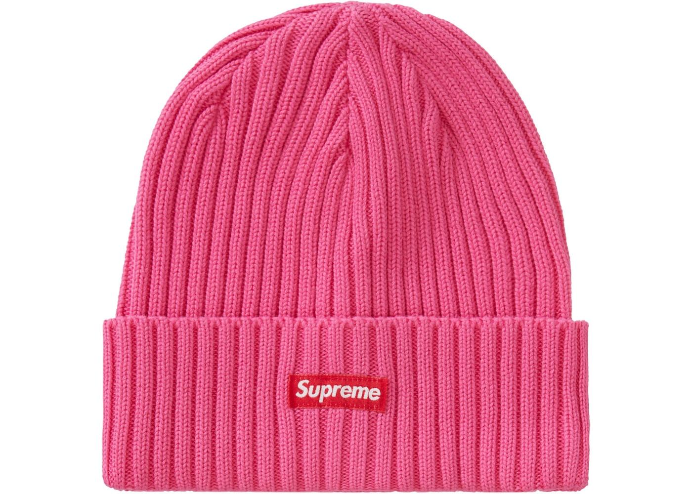 Supreme Overdyed Beanie Pink Tie Dye