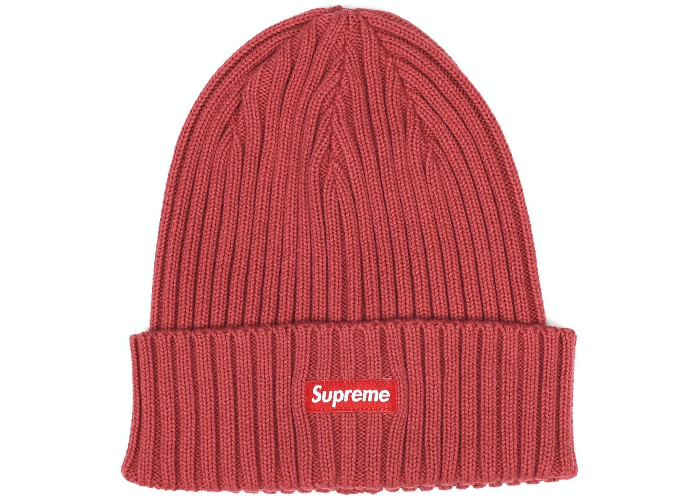 db8812b98e2 Supreme Overdyed Ribbed Beanie (SS18) Washed Magenta - SS18