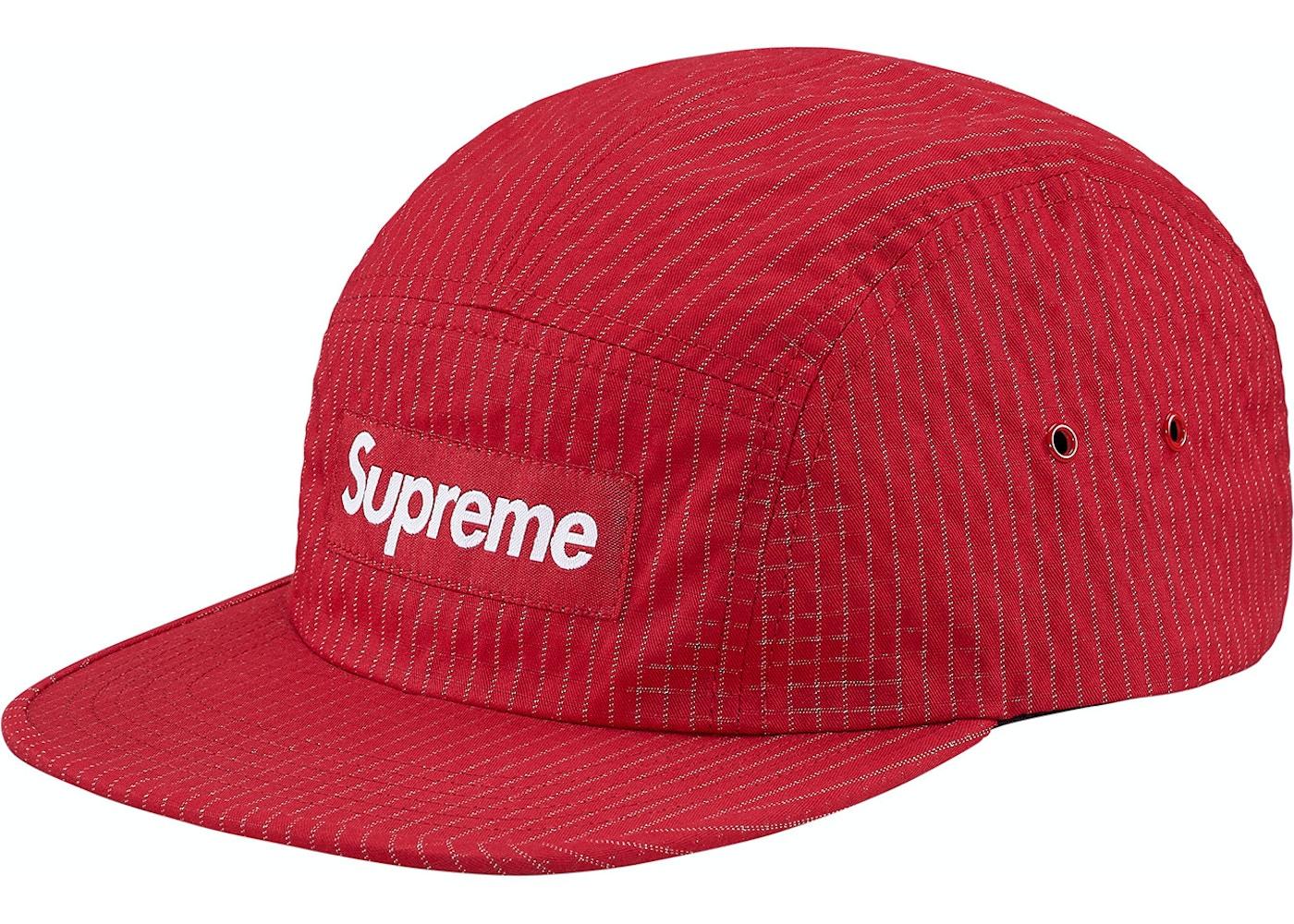 8b04e0272a6 HypeAnalyzer · Supreme Overdyed Ripstop Camp Cap Red