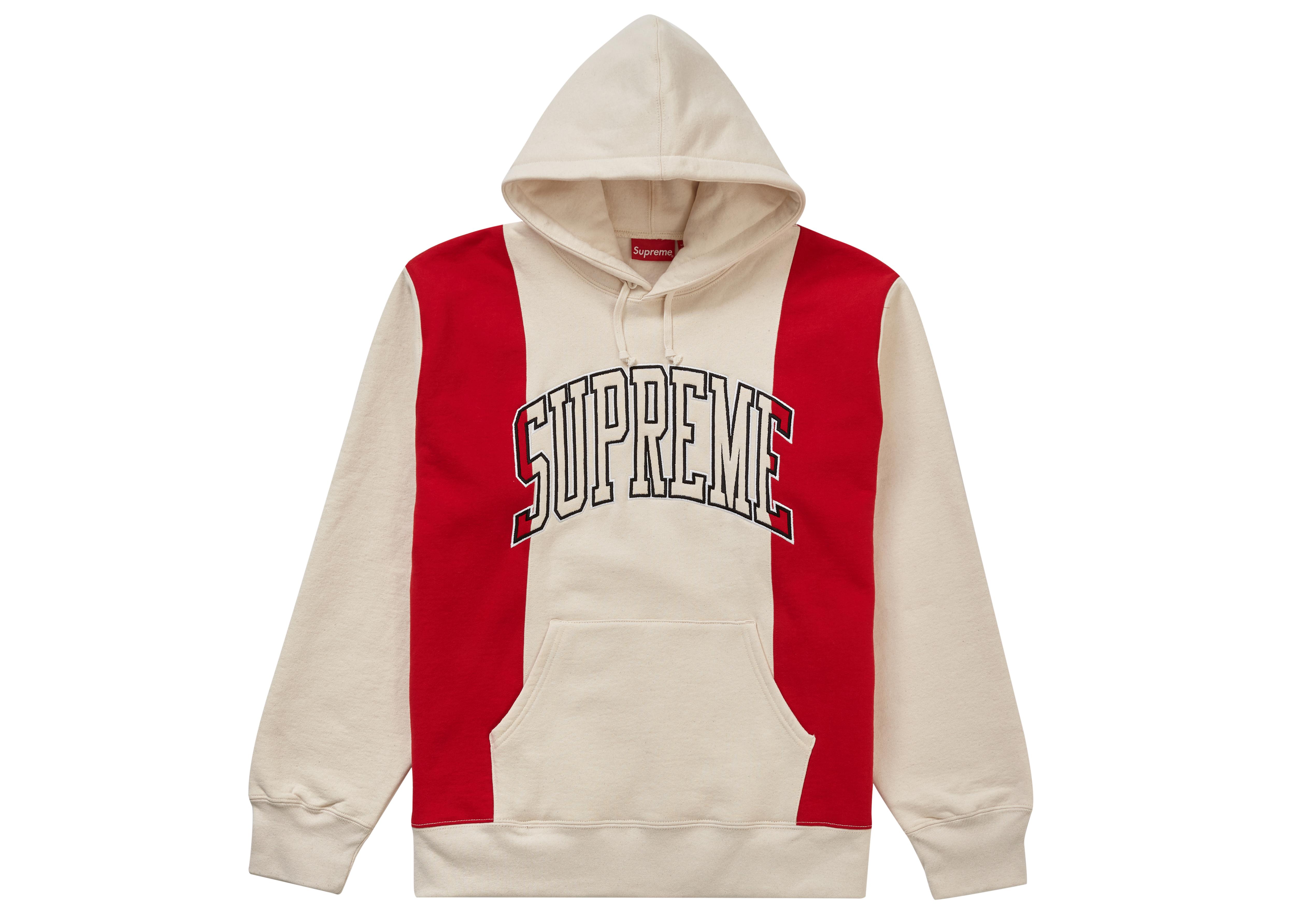 Paneled Hooded Sweatshirt