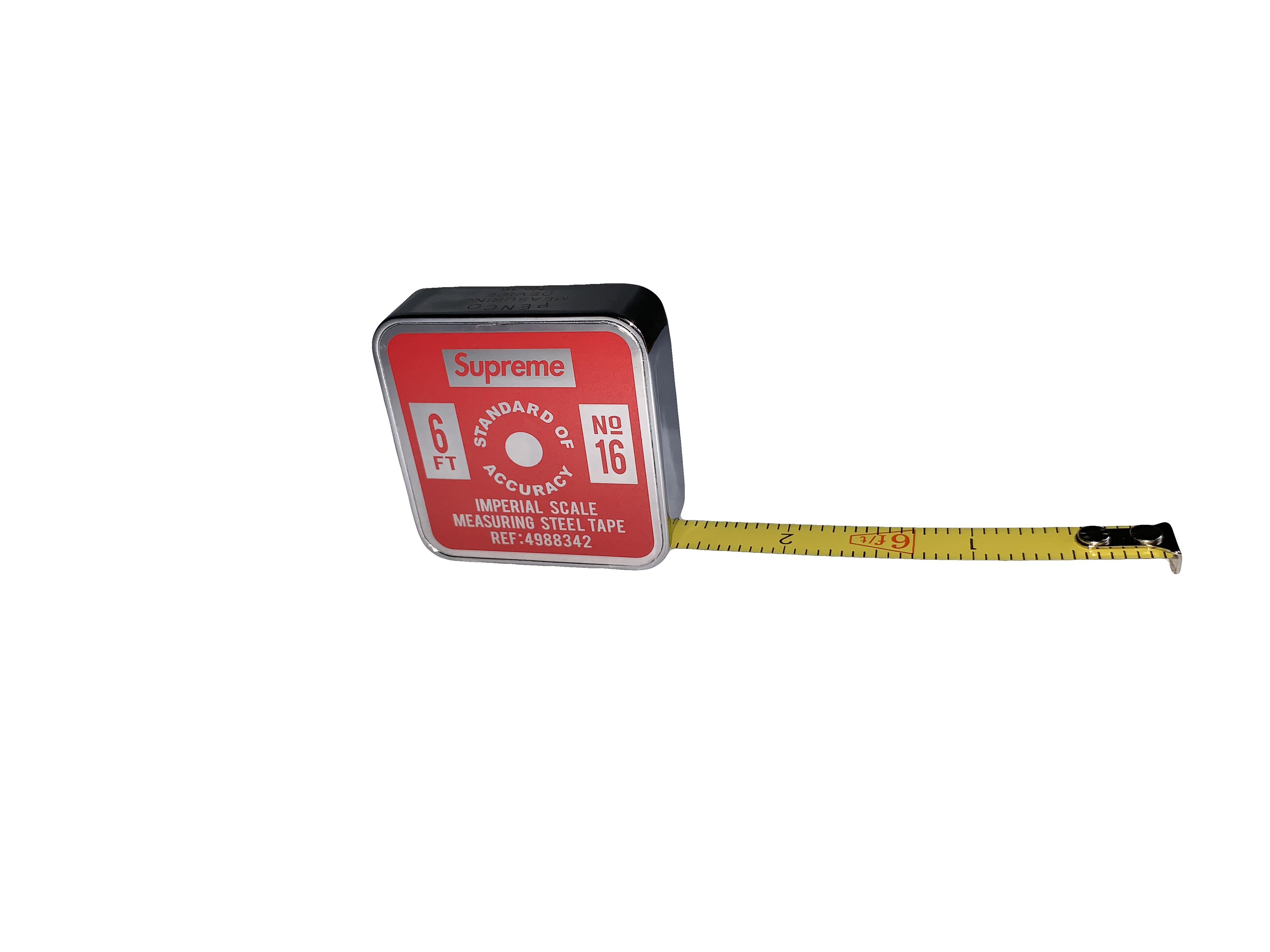 Supreme Penco Tape Measure (Imperial) Red