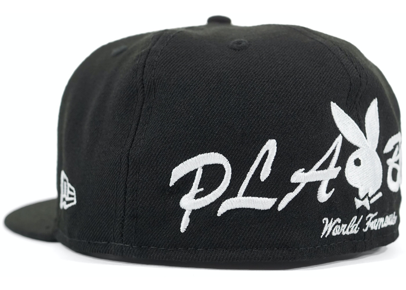 3b0bd7f1c7c Supreme Playboy Box Logo New Era Cap Black - SS17