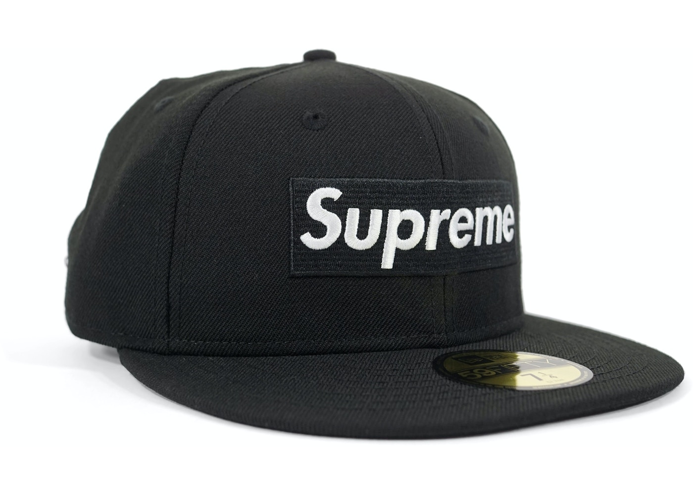 Supreme Box Logo New Era Cap Black