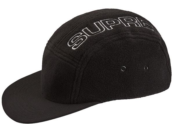 e33ee2a2650 Supreme Polartec Camp Cap Black - FW18
