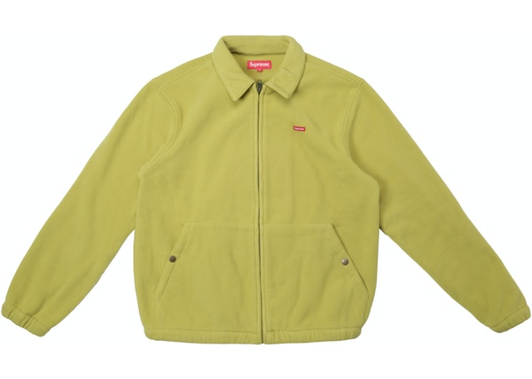 Supreme Polartec Harrington Jacket Sulphur 84ac9d6b0