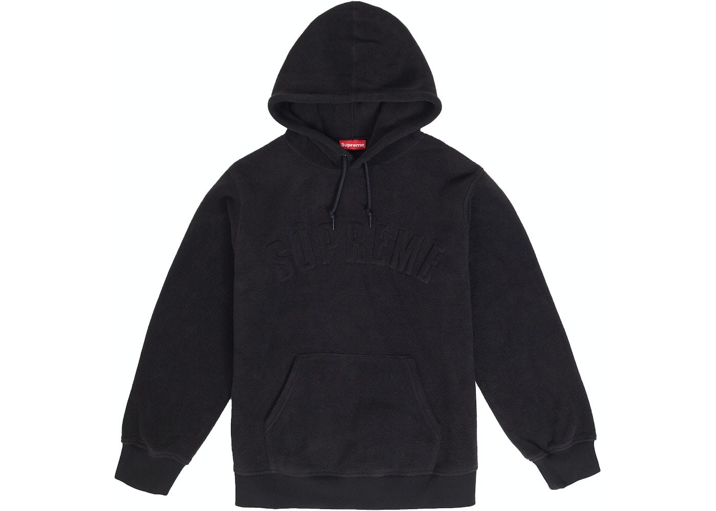 Supreme Polartec Hooded Sweatshirt Fw18 Black