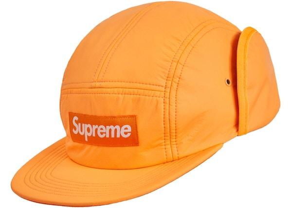 71c26e81 Supreme PrimaLoft Earflap Camp Cap Fluorescent Orange