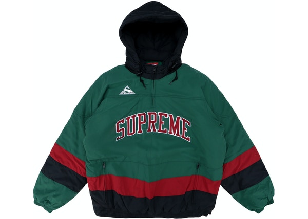 Supreme Puffy Hockey Pullover Dark Green 3055f33e5