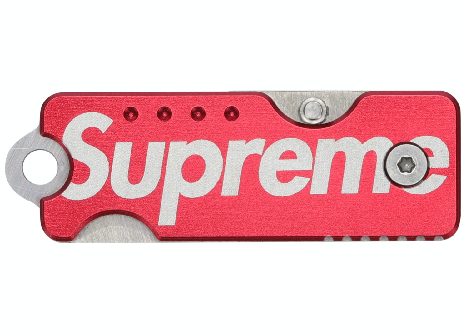 Supreme Quiet Carry Knife Red