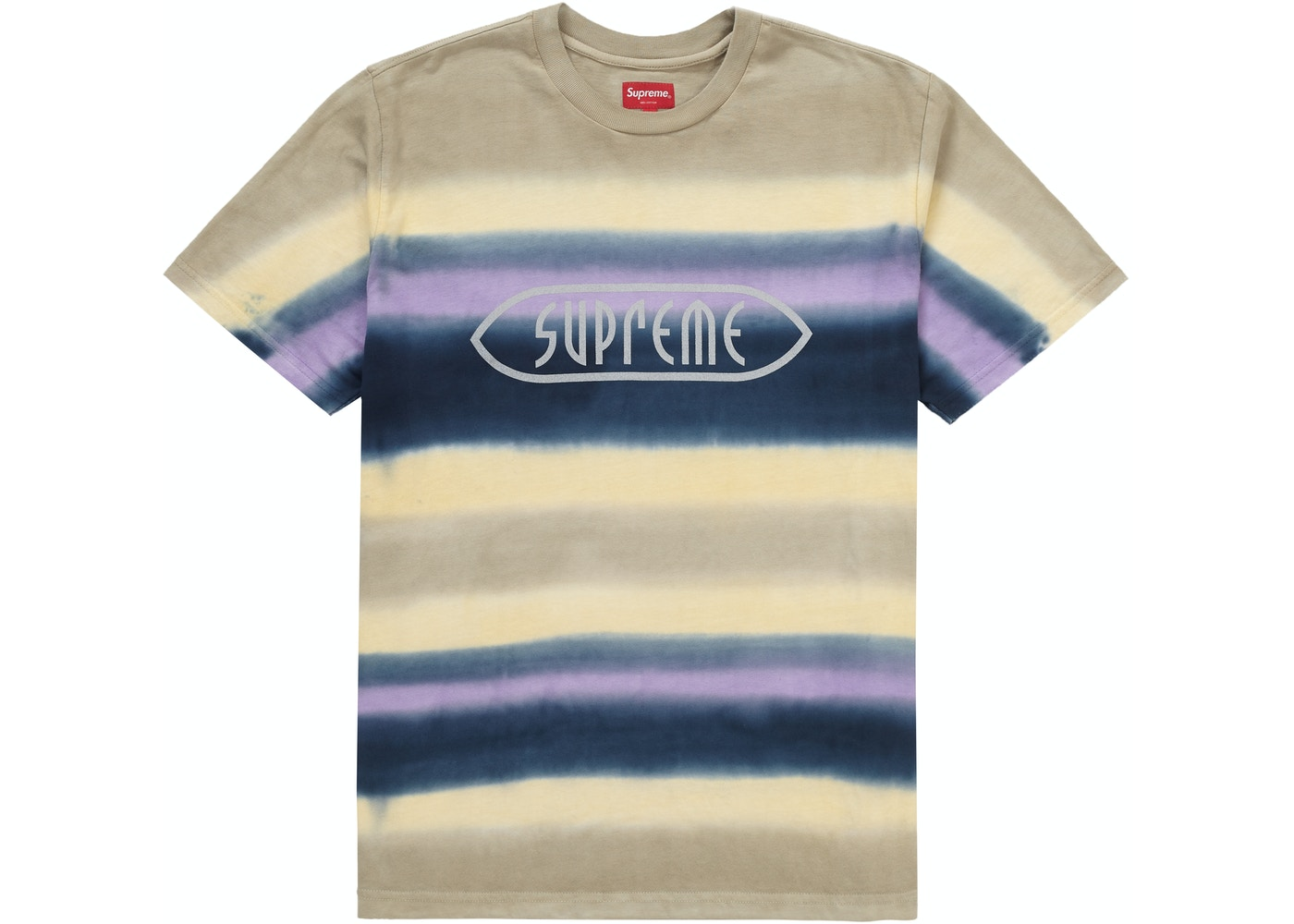 bcae010a4d59 Sell. or Ask. Size: XL. View All Bids. Supreme Rainbow Stripe Tee Purple