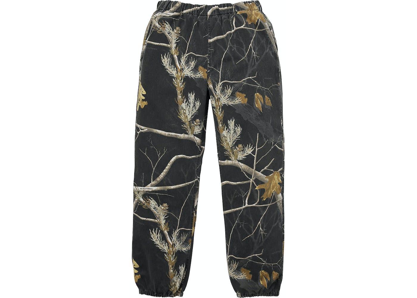 Supreme Realtree Camo Flannel Pant Black