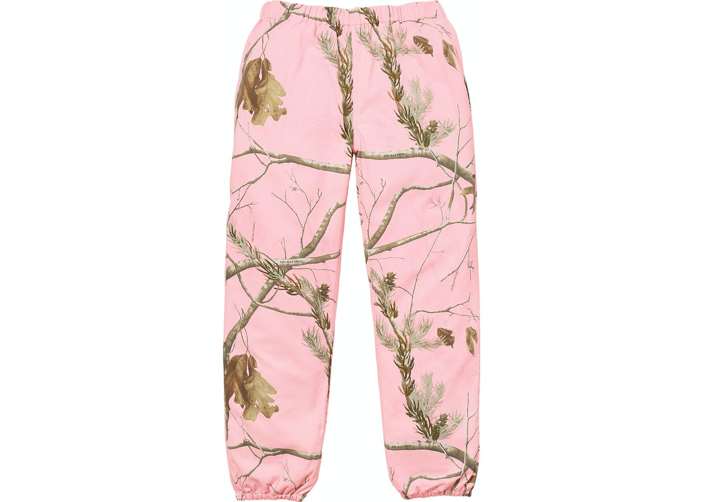 Supreme Realtree Camo Flannel Pant Pink