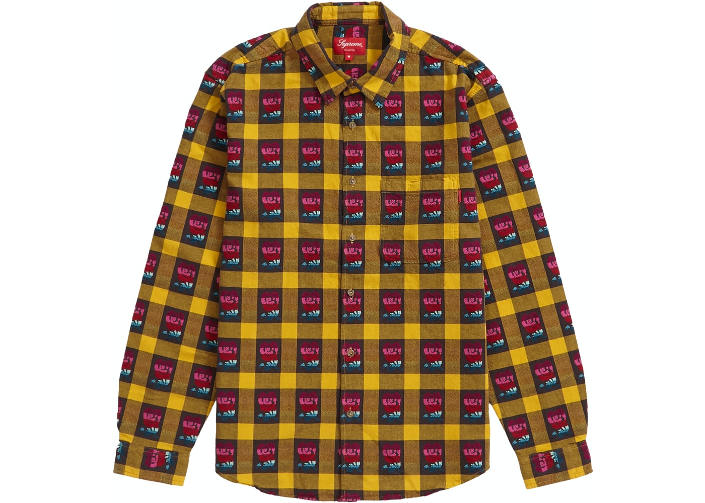 0ba61cc1 Sell. or Ask. Size M. View All Bids. Supreme Rose Buffalo Plaid Shirt Yellow