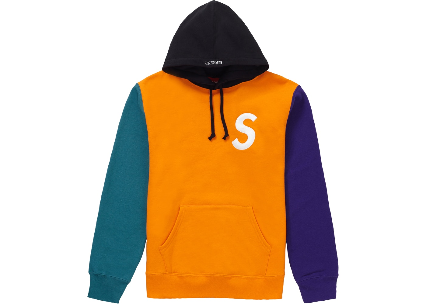 994f0d180d4d Sell. or Ask. Size S. View All Bids. Supreme S Logo Colorblocked Hooded  Sweatshirt Orange