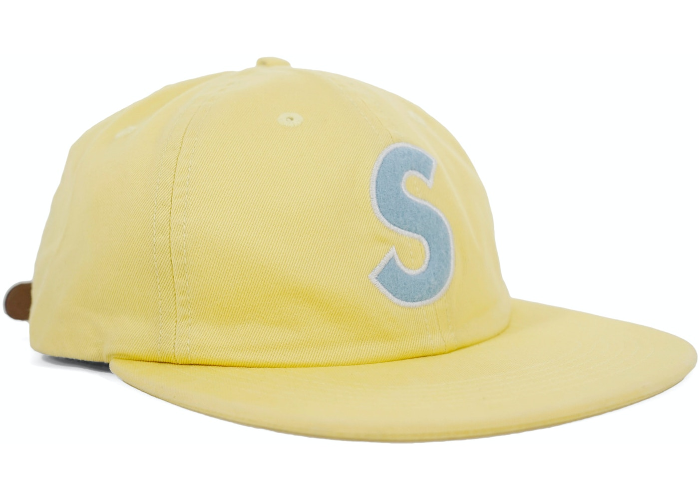 641ac4f23cc Sell. or Ask. View All Bids. Supreme S Logo Felt 6-Panel Light Yellow