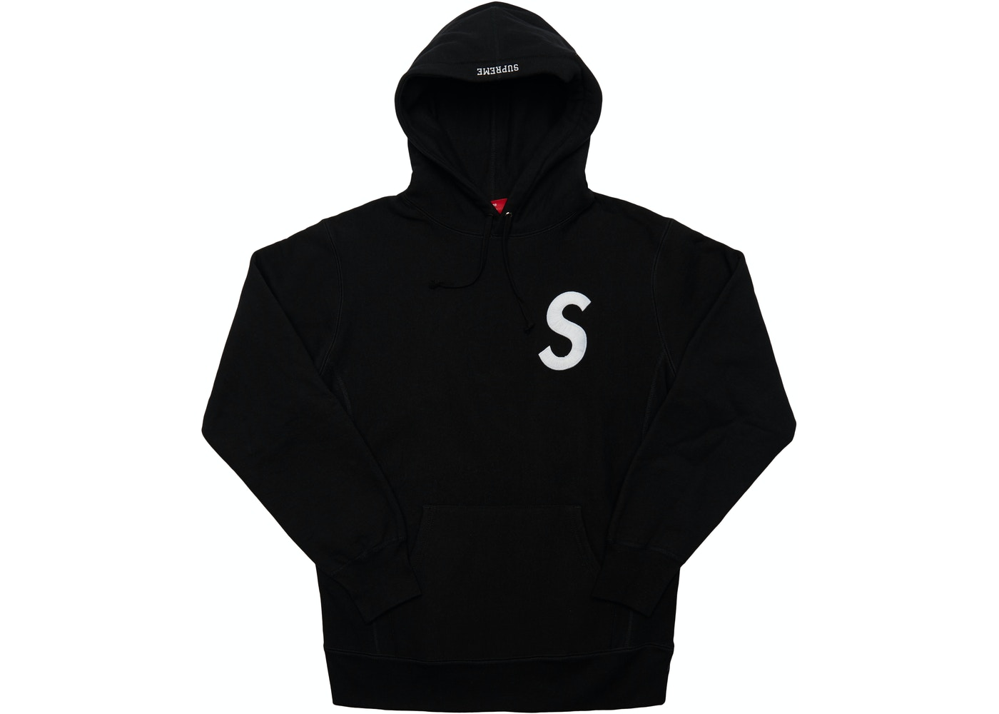 1908d8fb3268 Sell. or Ask. Size L. View All Bids. Supreme S Logo Hooded Sweatshirt Black