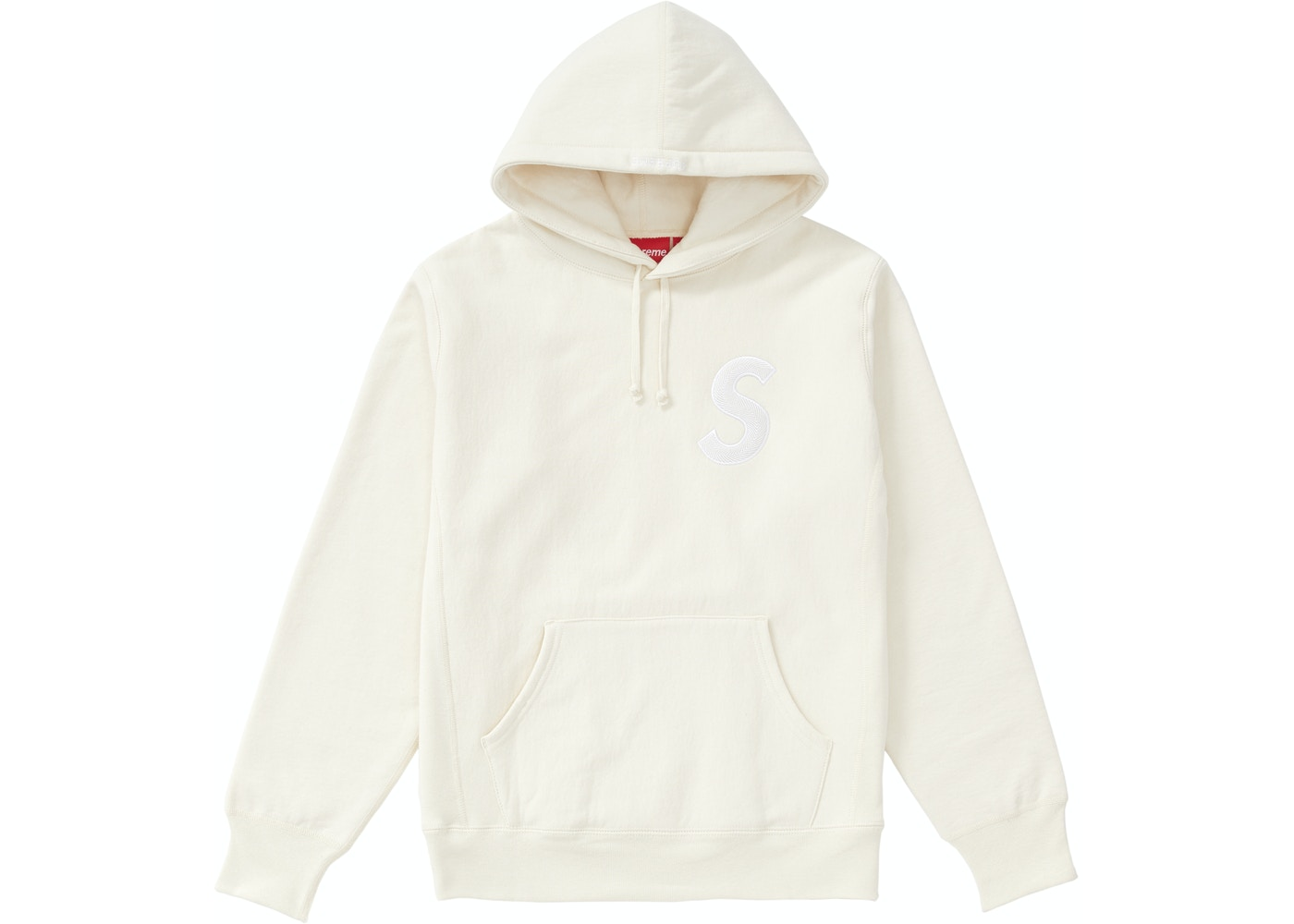 048dad72faa5 Supreme S Logo Hooded Sweatshirt (FW18) Natural - FW18
