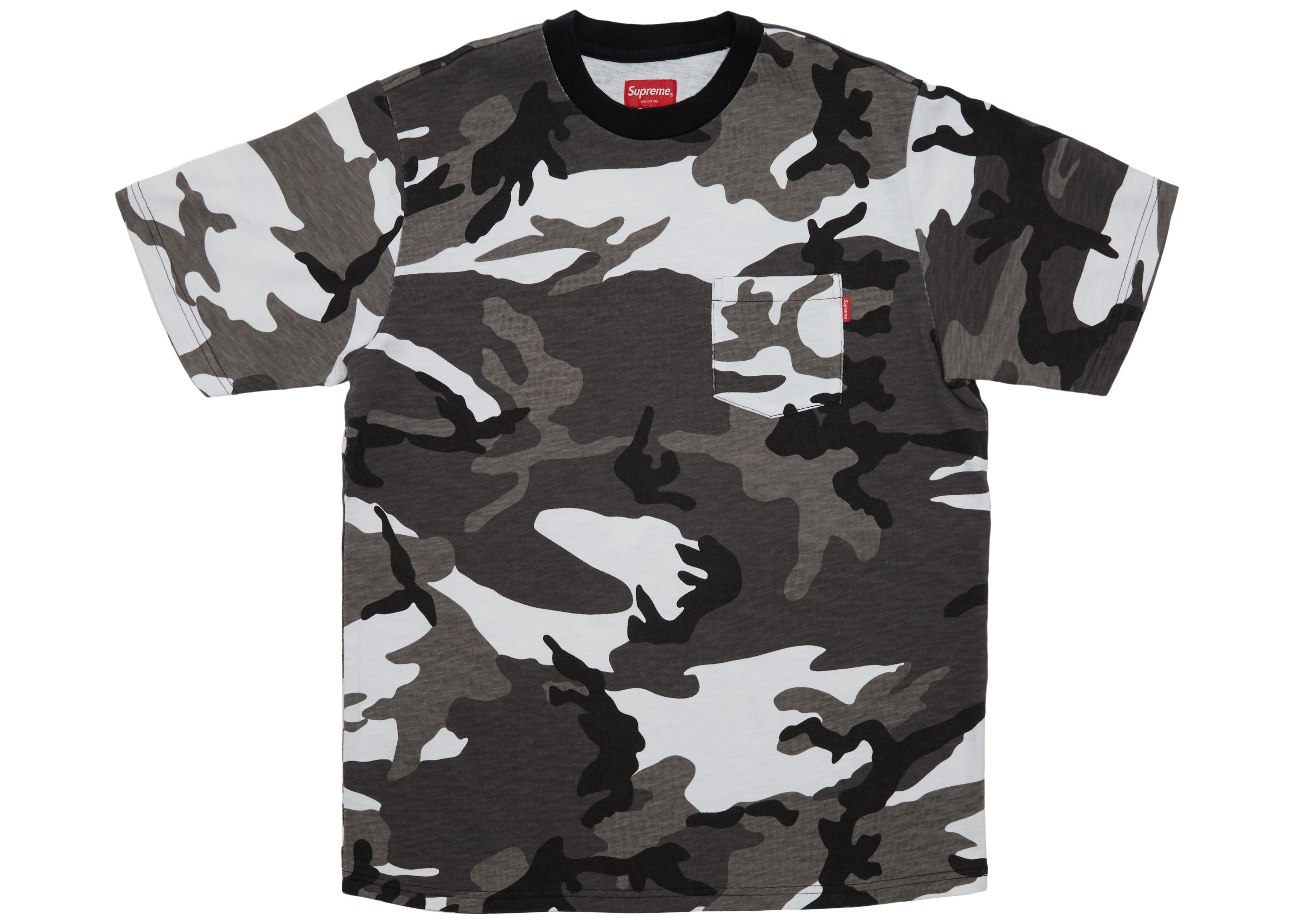 supreme t shirt camo