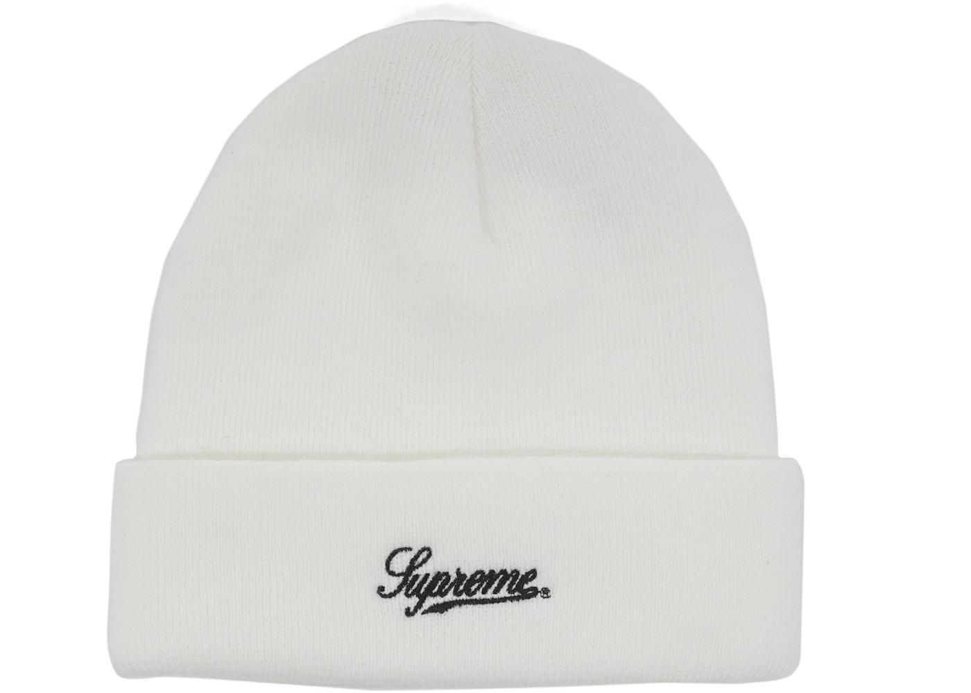 f016cff06d0fa Supreme Scarface Beanie White - FW17