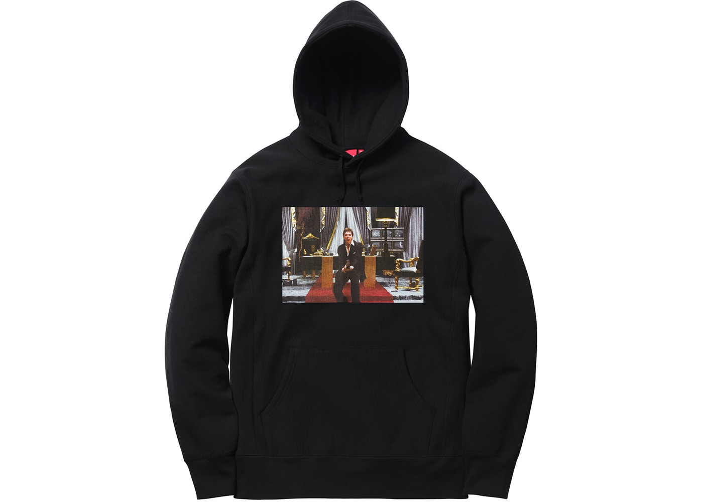 ef7f15f0b6b2 Supreme Scarface Friend Hooded Sweatshirt Black - FW17