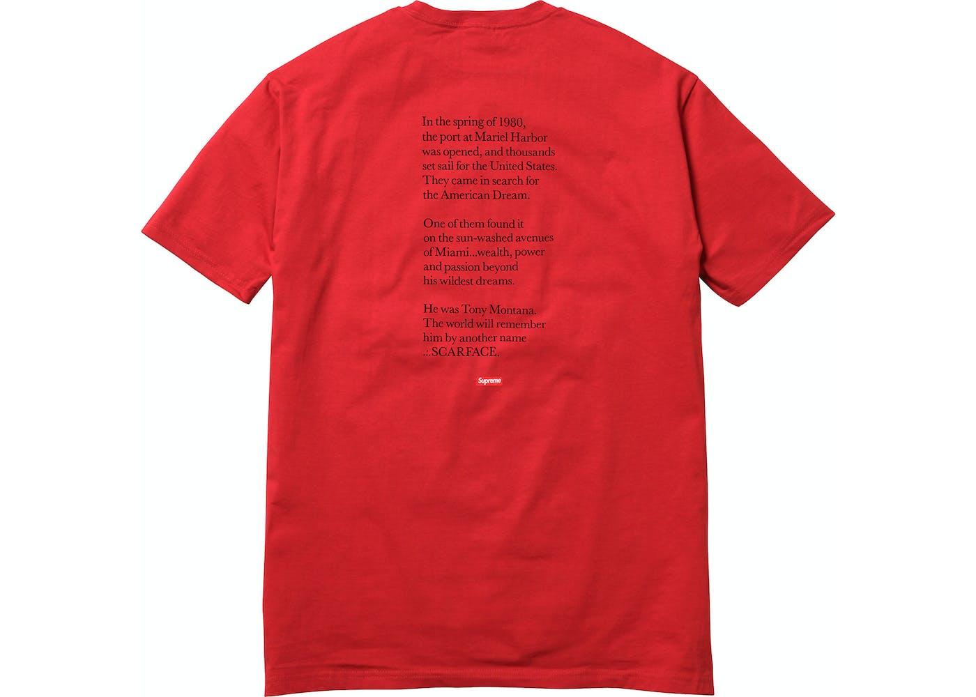 dd8ccbde38 Supreme Scarface Shirt Grailed