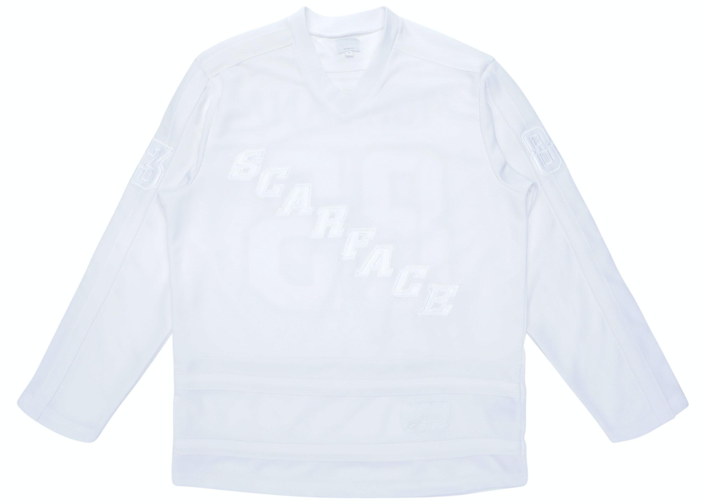 Supreme Scarface Hockey Jersey White