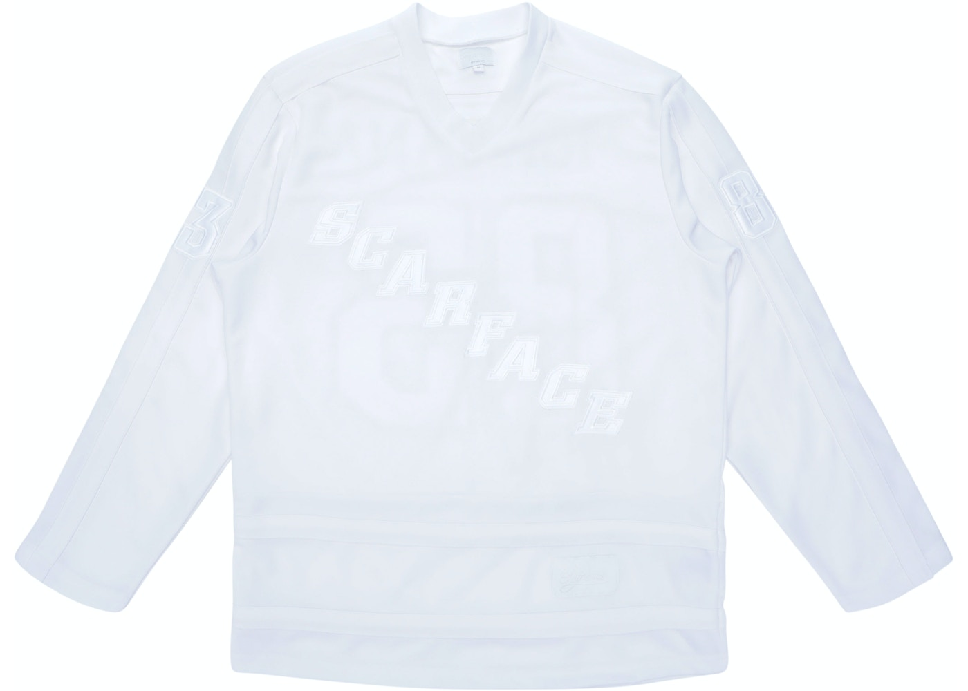 timeless design 6d644 684d8 Sell. or Ask. Size L. View All Bids. Supreme Scarface Hockey Jersey White