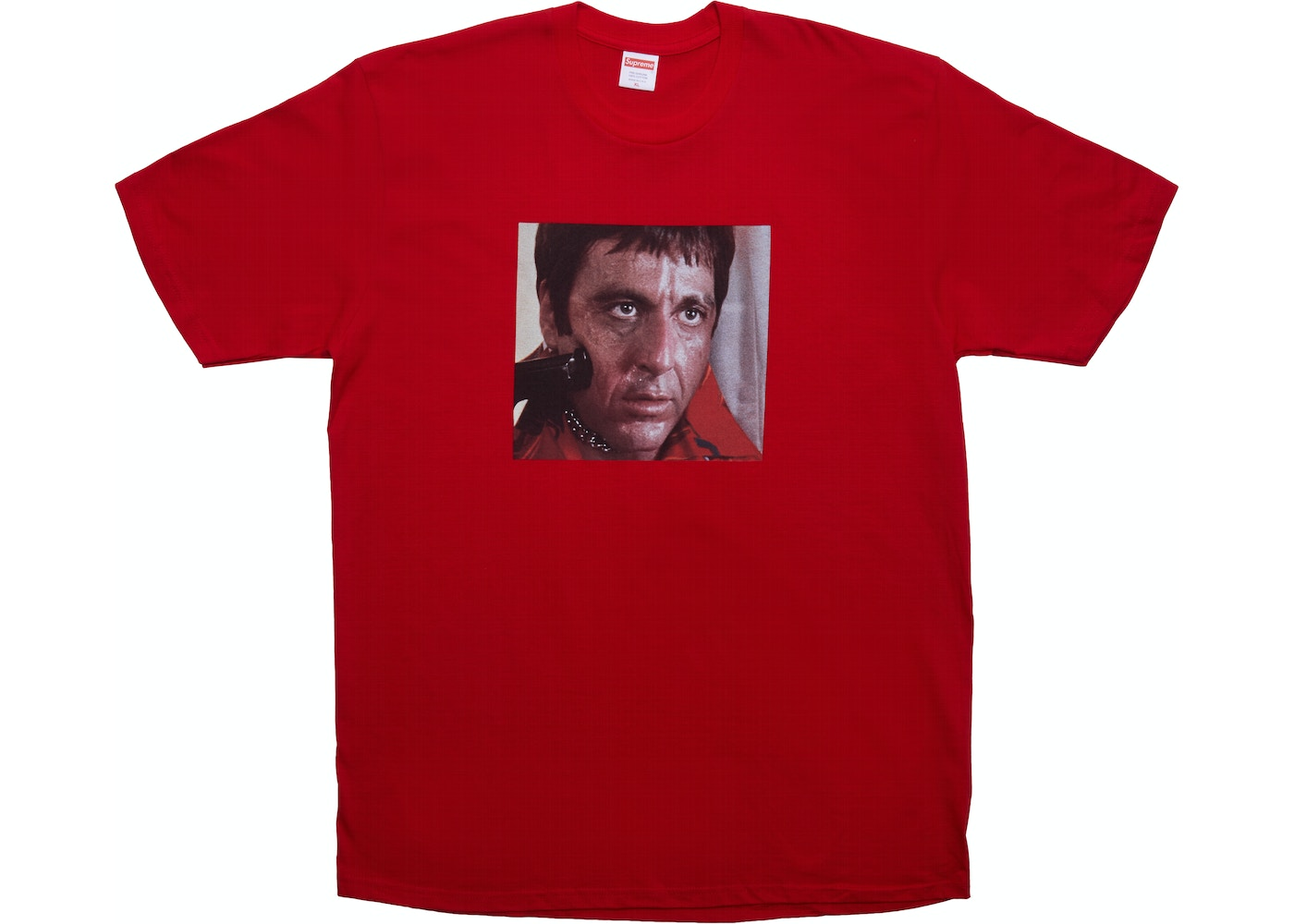 df54f5248890 Supreme Scarface Shower Tee Red - FW17