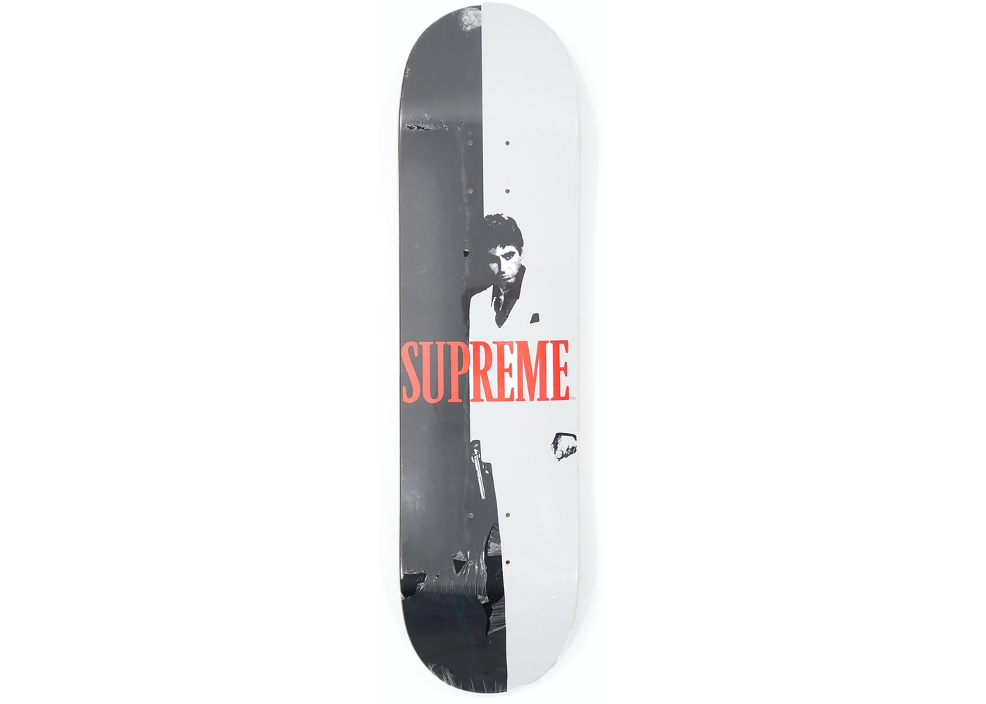 7cd30974 Supreme Scarface Split Skateboard Deck Multi - FW17