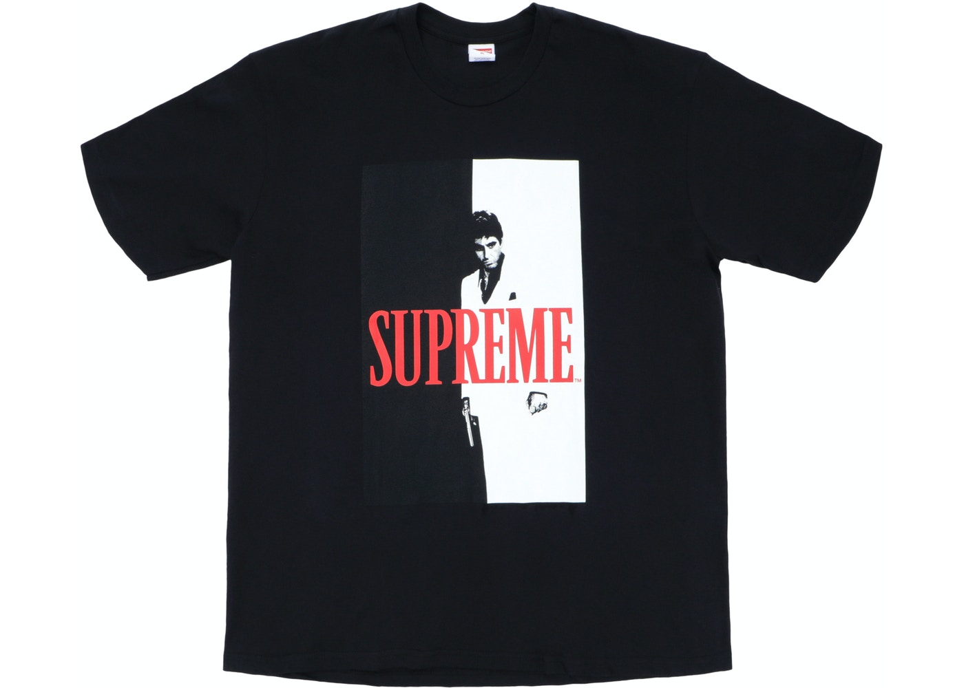 1fee9569d03c Supreme Scarface Split Tee Black - FW17