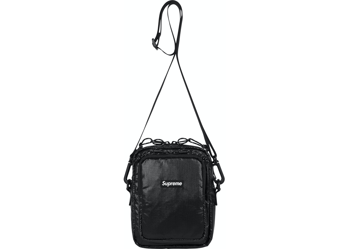 Supreme Shoulder Bag Black - FW17 780f3a89109bd