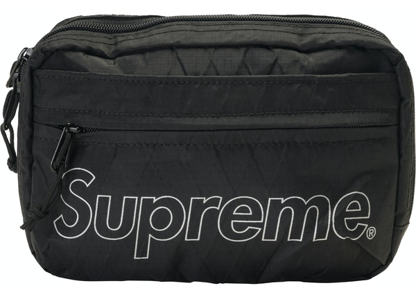 1cfb62e4 Supreme Shoulder Bag (FW18) Black