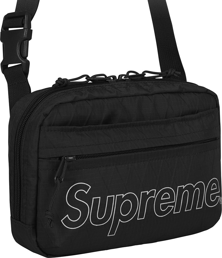 Supreme Shoulder Bag (FW18) Black