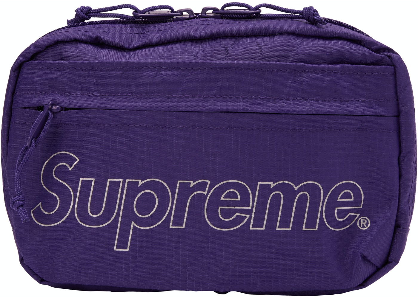 Supreme Shoulder Bag Fw18 Purple