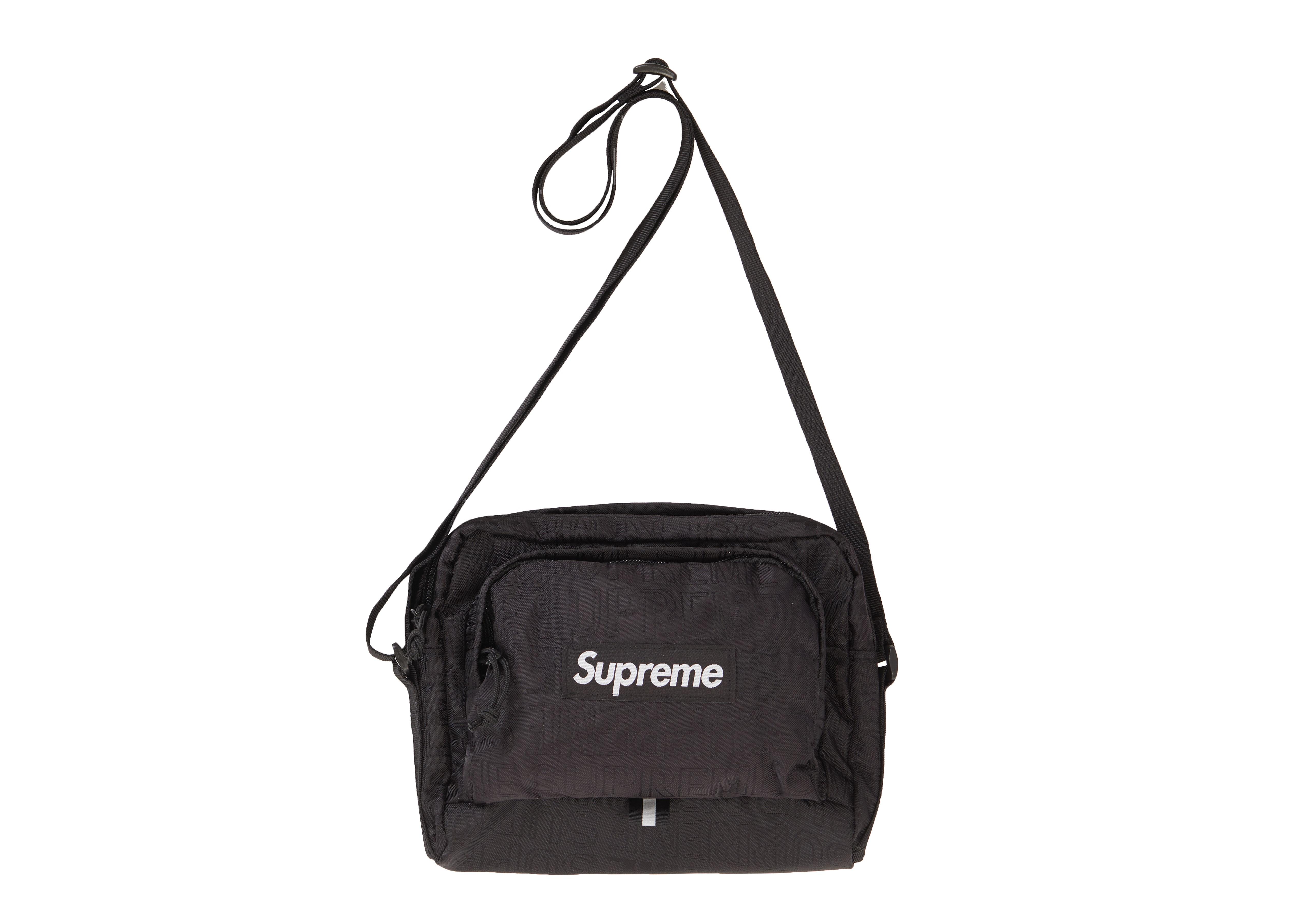 Supreme Shoulder Bag (SS19) Black