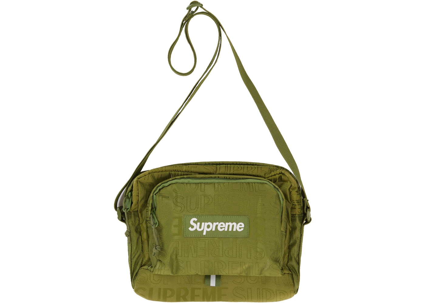 Supreme Shoulder Bag Ss19 Olive