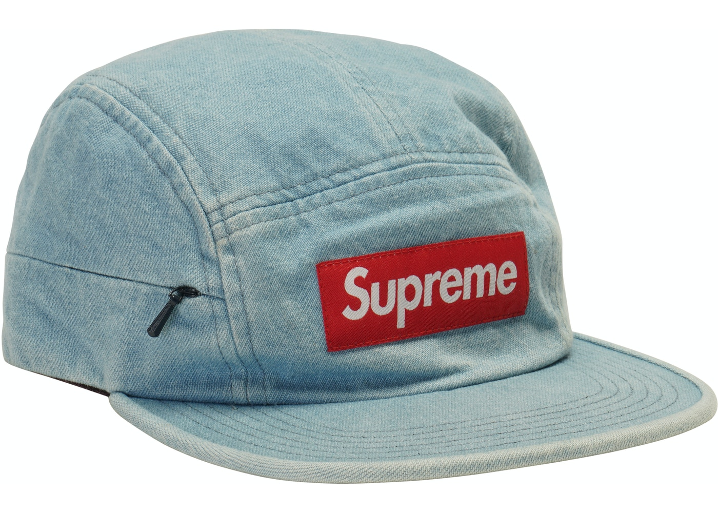 7a5c35e5798 Sell. or Ask. View All Bids. Supreme Side Zip Camp Cap Denim