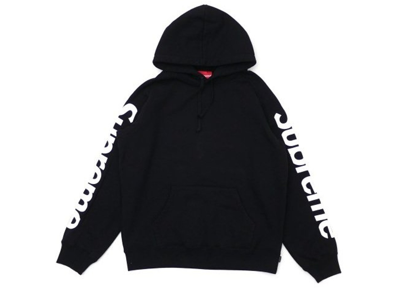 new concept f4975 3ce00 Supreme Sideline Hooded Sweatshirt Black - SS18