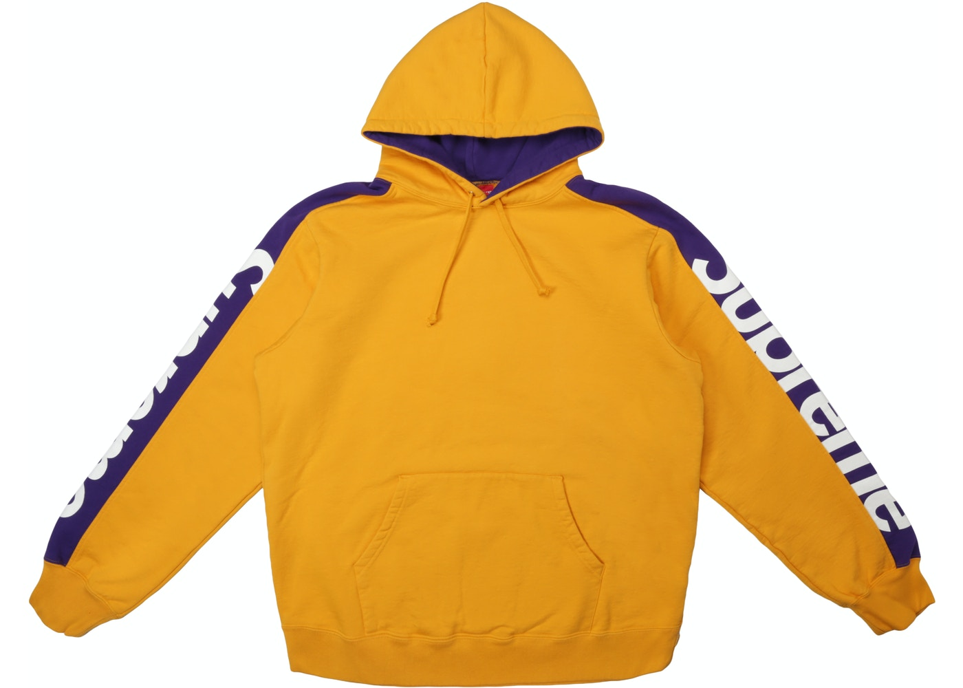 b94ecd75a055 Supreme Sideline Hooded Sweatshirt Gold - SS18