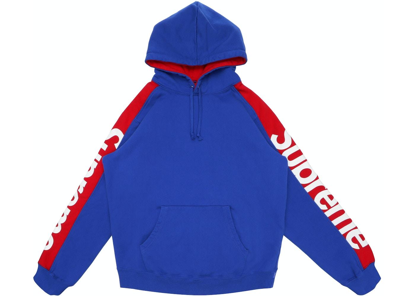 a05ce9e8 Supreme Sideline Hooded Sweatshirt Royal - SS18