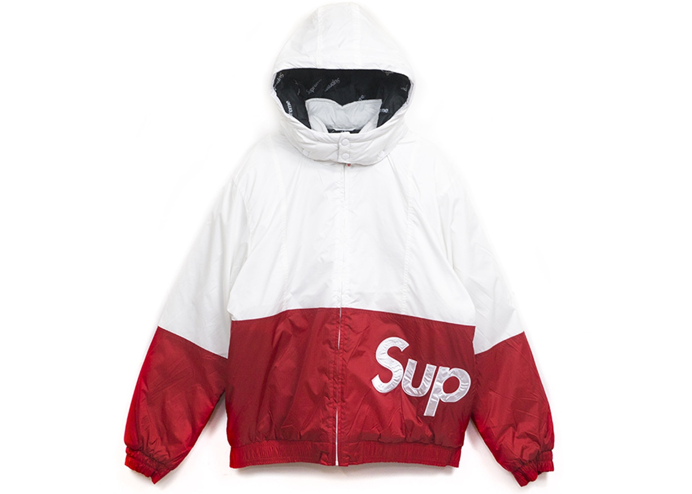Or Ask Size S View All Bids Supreme Sideline Logo Parka White
