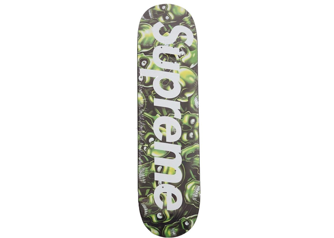 Supreme Skull Pile Skateboard Deck Multi