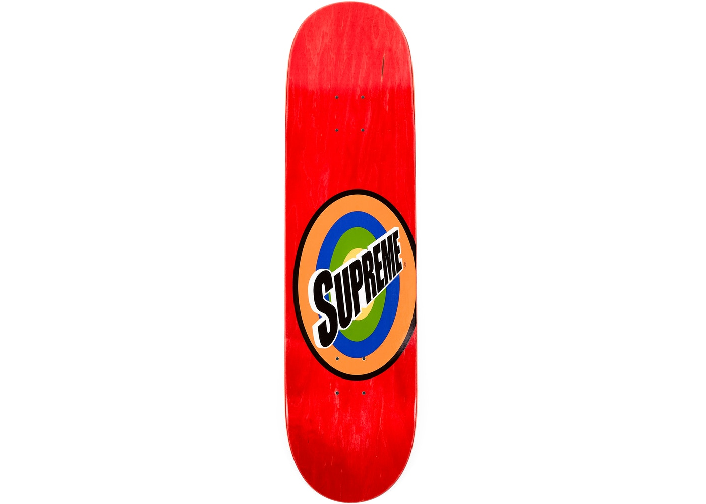 2eabda17 Supreme Spin Skateboard Deck Red - SS16