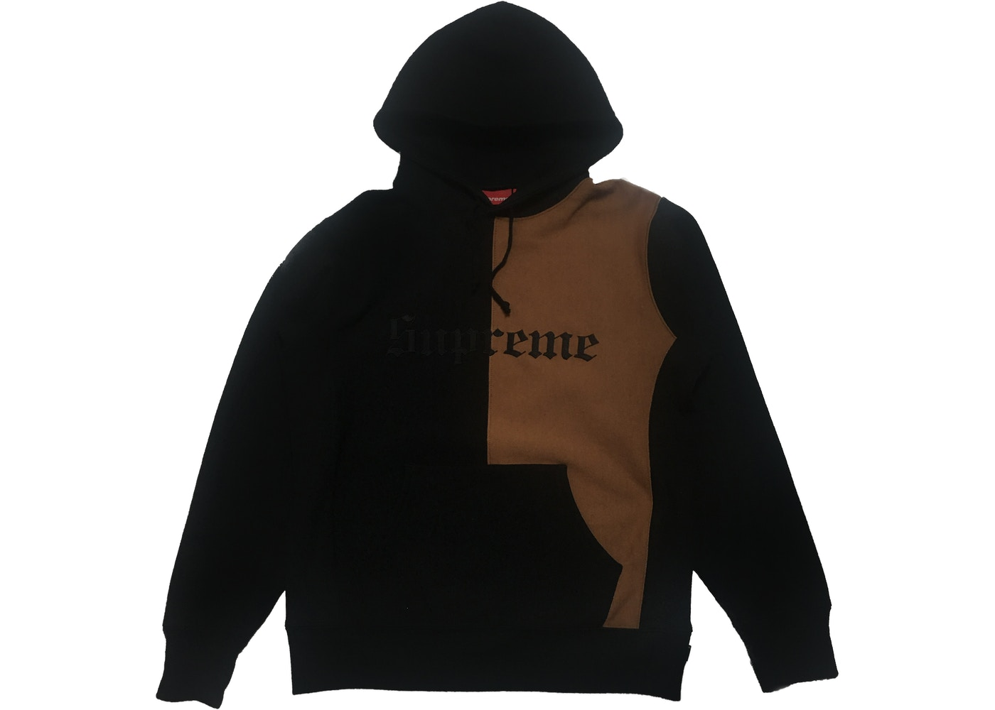 aac942aee Sell. or Ask. Size M. View All Bids. Supreme Split Old English Hooded  Sweatshirt Black