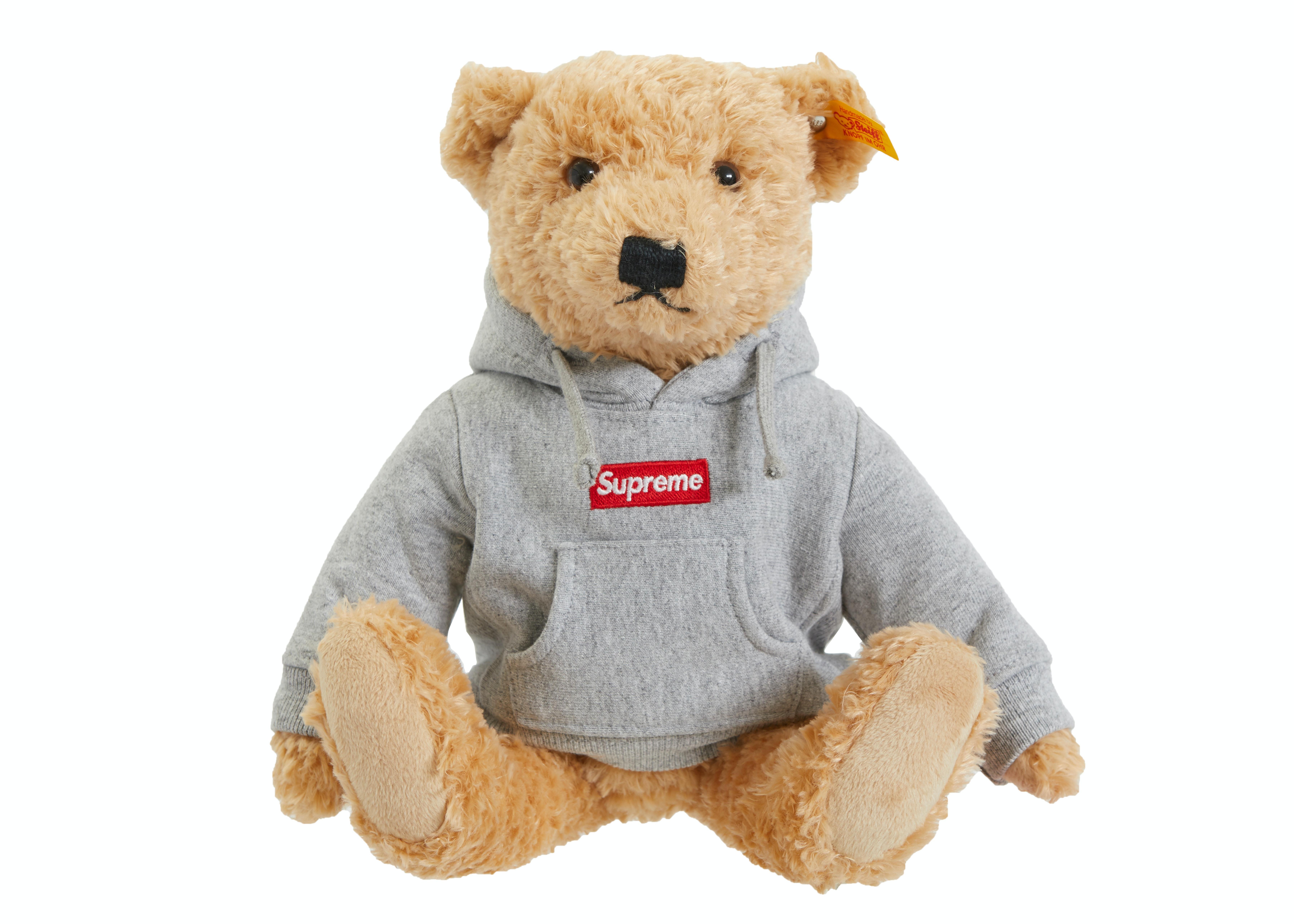 Supreme Steiff Bear Heather Grey