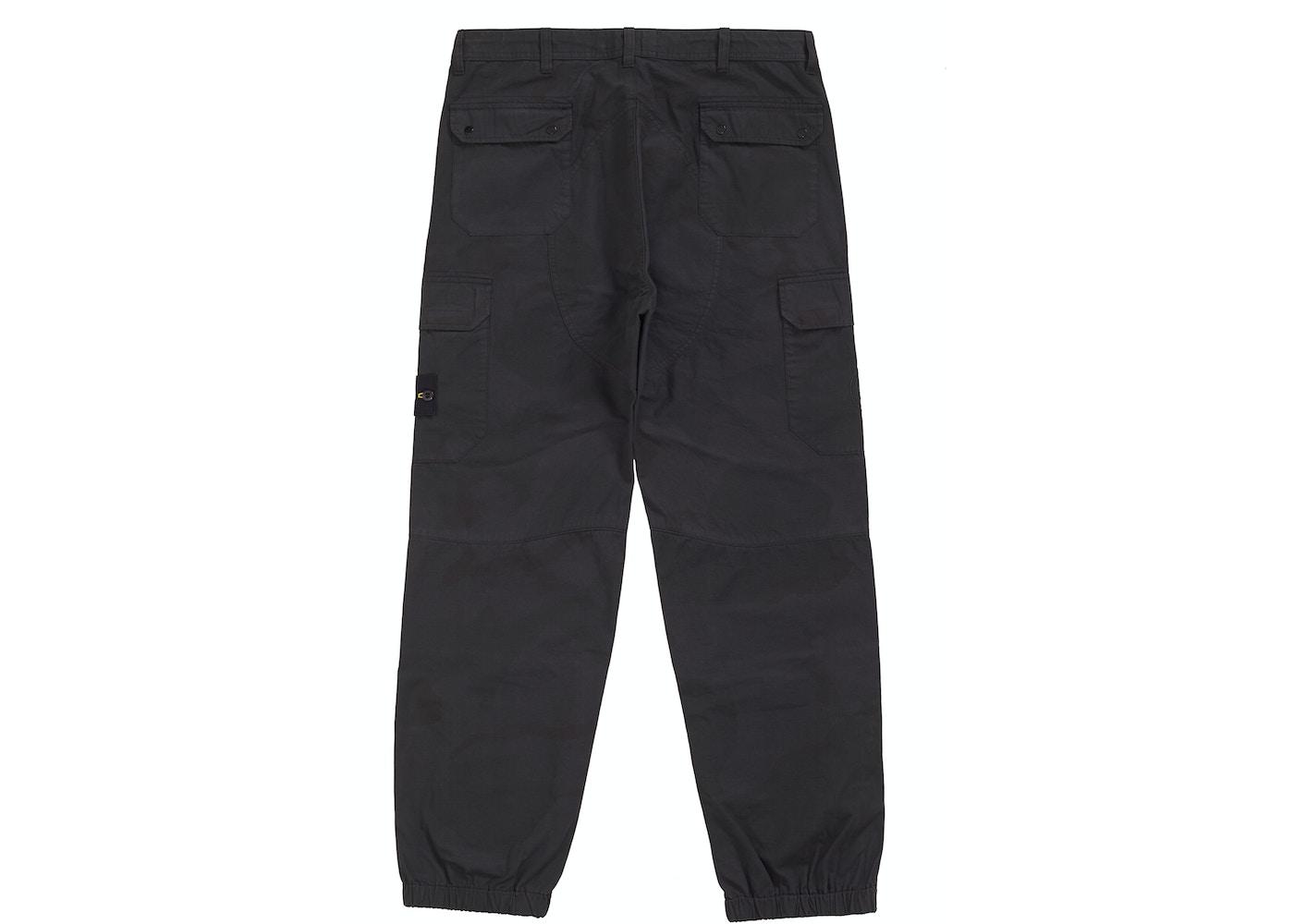 sale usa online exclusive deals cheap for sale Supreme Stone Island Camo Cargo Pant Black Camo