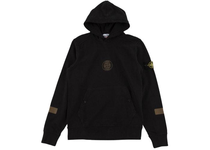Black hooded sweat jacket
