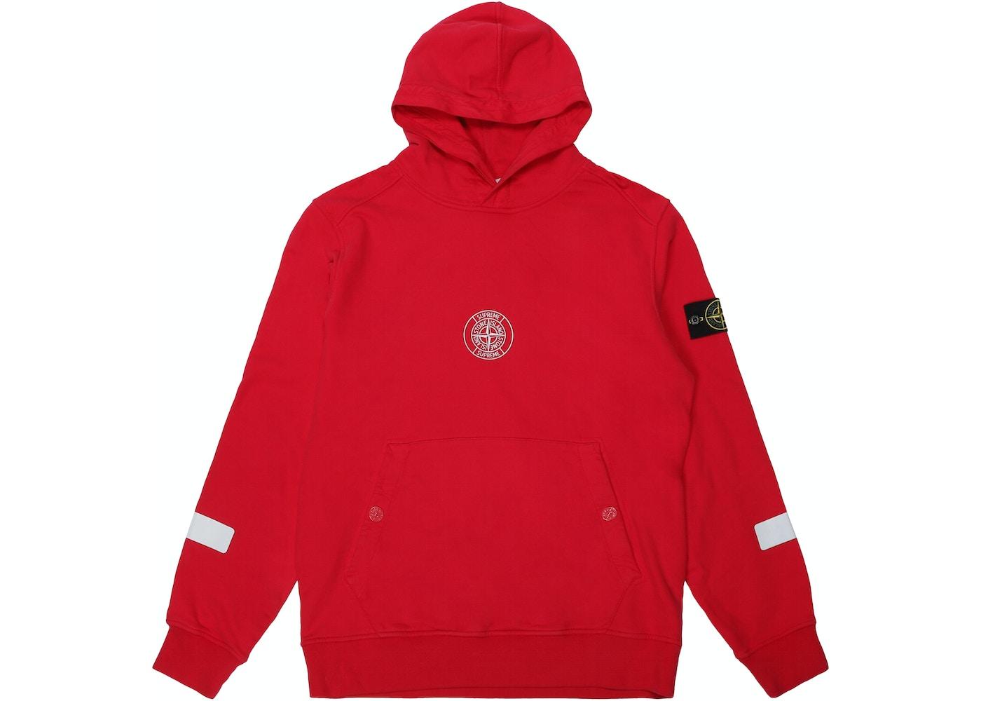 7b386f008 Supreme Stone Island Hooded Sweatshirt Magenta
