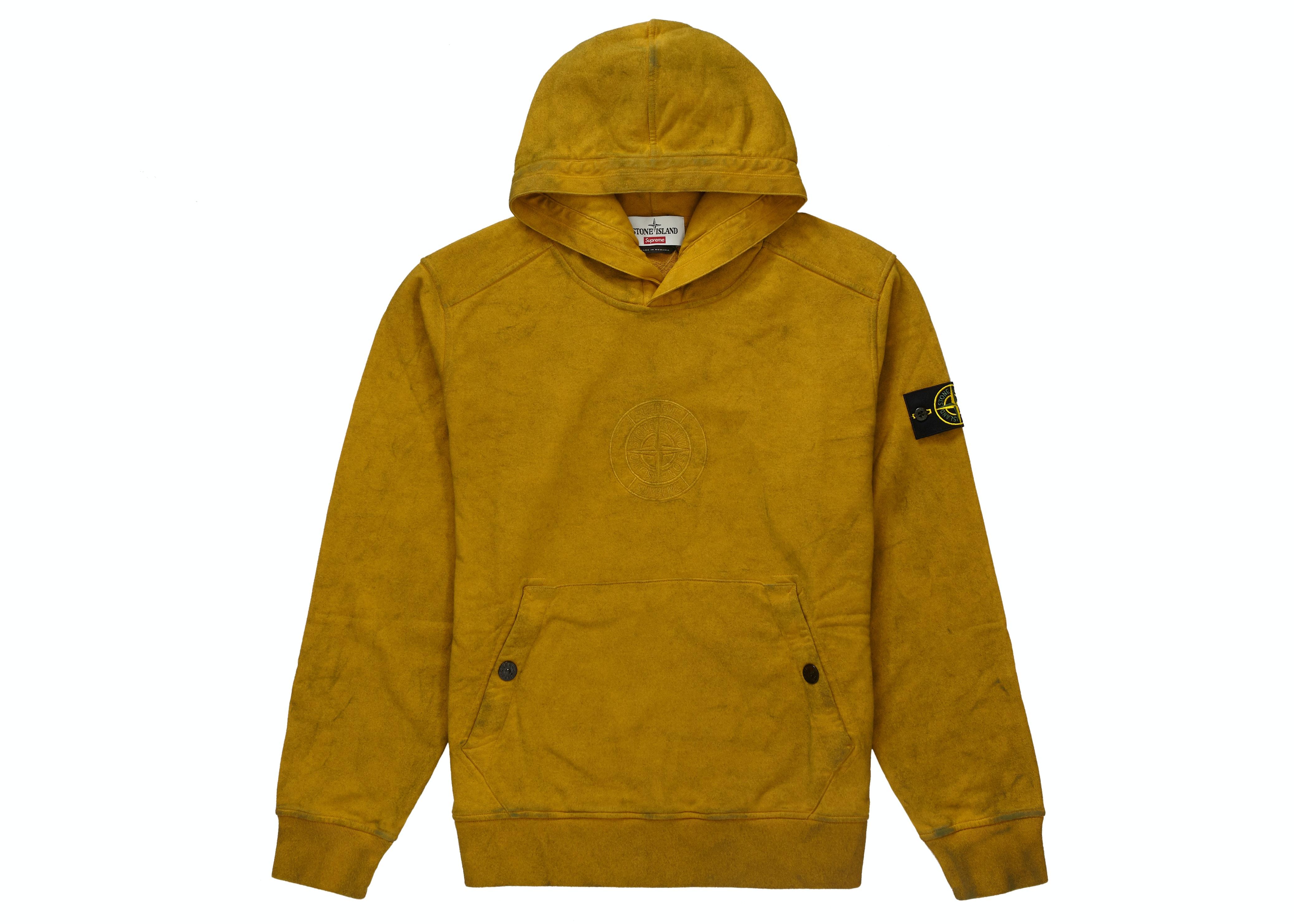 Supreme Stone Island Hooded Sweatshirt (SS19) Olive